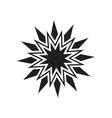 Black star icon vector image vector image