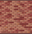 bright brick wall dark background vector image