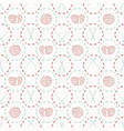 knitting icon crafts seamless pattern hand drawn vector image
