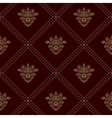 Royal seamless wallpaper vector image