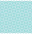 tile cross pattern background vector image vector image
