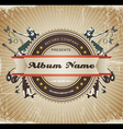 Vintage music sign vector | Price: 1 Credit (USD $1)