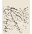 Ancient Greek Railways vector image