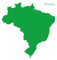 brazil pictograph vector image
