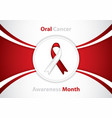 cancer symbol vector image