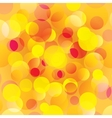 Colorful orange circles abstract light background vector image vector image