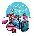 perfumes vector image vector image