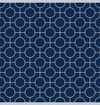 seamless geometric simple pattern vector image vector image