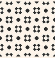 Seamless pattern with circles and crosses vector image