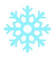 colorful snowflake icon vector image