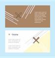 baseball bat abstract corporate business banner vector image