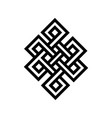 celtic knot tattoo symbol - ready for print vector image vector image