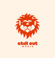 chill out logo vector image vector image