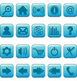 internet website icons set vector image