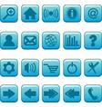 internet website icons set vector image