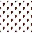 letter f from latin alphabet made of chocolate vector image vector image
