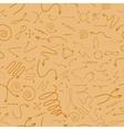 Navigation pattern background vector image vector image
