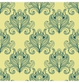 Paisley dense flower buds seamless pattern vector image vector image