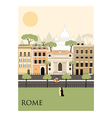 Rome city vector image