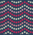 seamless repeat pattern bright floral vector image vector image