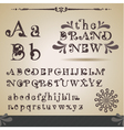 Swirly alphabet vector | Price: 1 Credit (USD $1)