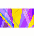 colorful abstract background with rays of vector image vector image