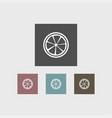 lemon icon simple vector image vector image