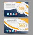 multipurpose layout banner design2 vector image vector image