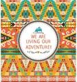 Navajo seamless tribal colorful pattern vector image vector image