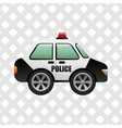 police service design vector image vector image