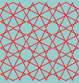 tile mint green and red pattern or background vector image vector image