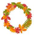 wreath autumn leaves