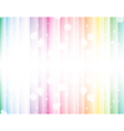 Abstract background of the rainbow vector image vector image