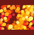 abstract summer bokeh light background vector image