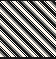 diagonal stripes seamless pattern thin and thick vector image vector image