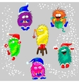 Monsters in the Winter vector image vector image