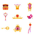 Set fairy world princess elements and attributes