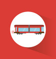 train transport vehicle image vector image vector image