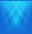 abstract blurred blue light background background vector image vector image