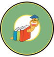 Back to school logo cartoon vector image vector image