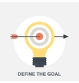Define the Goal vector image