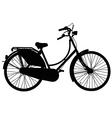 Dutch roadster bicycle vector image vector image