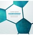 football championship vector image vector image