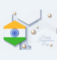 india independence day india 15th august vector image vector image