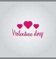 love valentine day vector image
