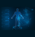 medical health care human body diagnostics vector image vector image