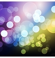 modern abstract bokeh background vector image vector image