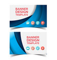 multipurpose layout banner design7 vector image