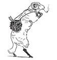 reynard the fox bellin the ram vintage vector image vector image
