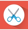 Scissors icon Education concept Flat vector image